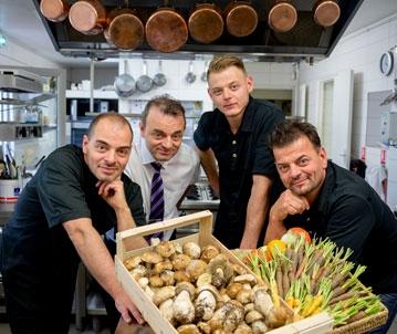 Le Verger des Kouros restaurant gastronomique Cuers en Provence Var