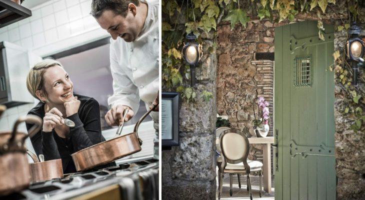 Le Relais des Moines Sebastien Sanjou étoilé Michelin Les Arcs sur Argens Var Provence