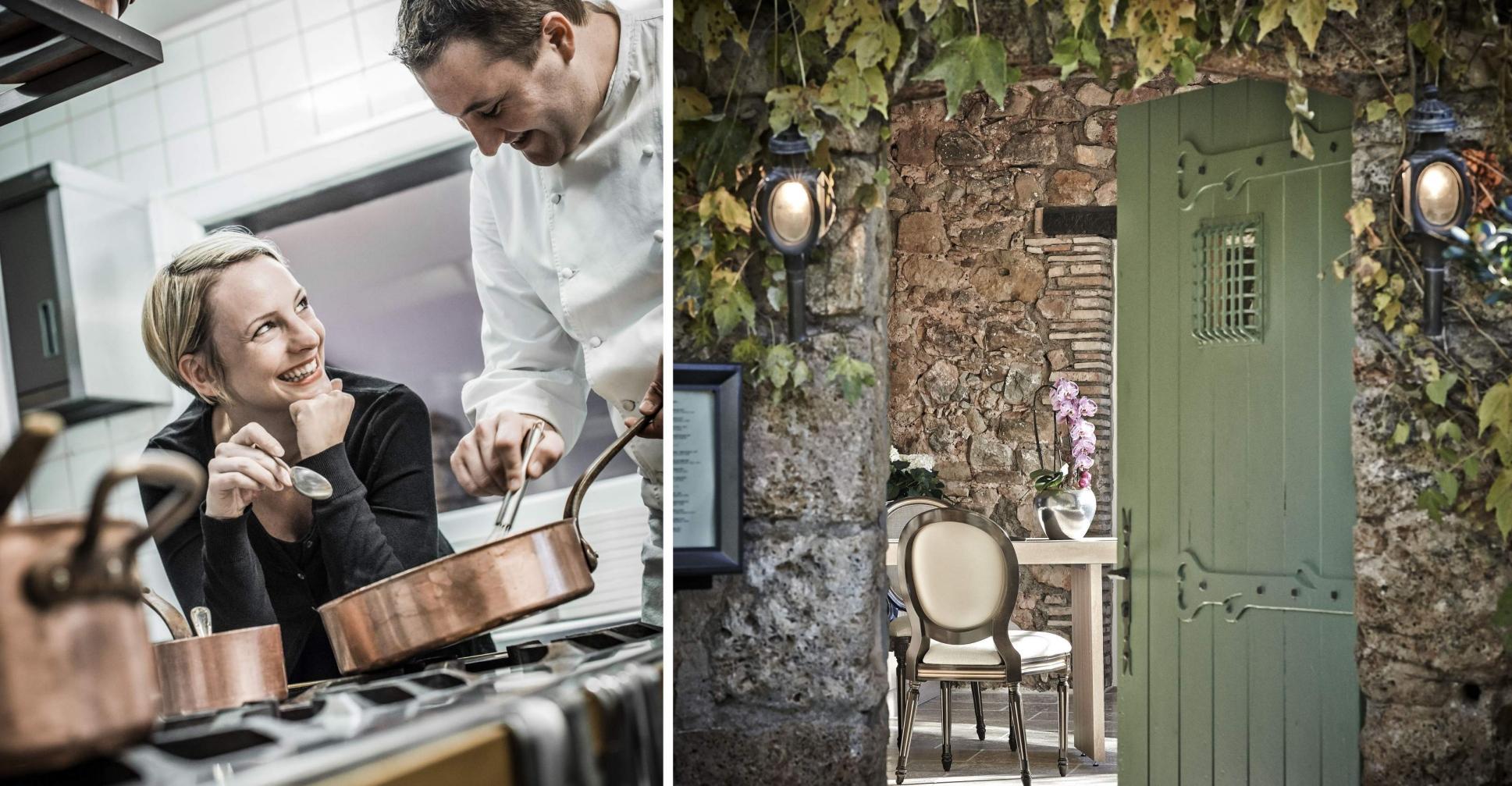 Le Relais des Moines Sebastien Sanjou étoilé Michelin Les Arcs sur Argens Var Provence - Provence - Restaurant - Provence var