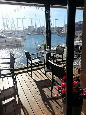 Restaurant Café Telline Jean Claude Paillard port Grimaud Golfe de St Tropez Var Côte d'Azur - Restaurant - Côte d'Azur de Cassis à Menton - Image 2
