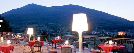 Restaurant restaurant des Gorges du Verdon la Palud sur Verdon Alpes Haute Provence - Hôtel - Restaurant - Haut Var et Gorges du Veron