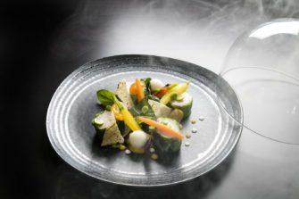 Restaurant gastronomique Eze Alpes Maritimes Riviera Hotel 5 étoiles et Spas La table de Patrick Raingeard - Hôtel - Restaurant - Alpes maritime Côte d'Azur - Image 1