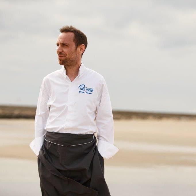 Johan Thyriot étoilé Michelin Chef exécutif Les Cures Marines Trouville
