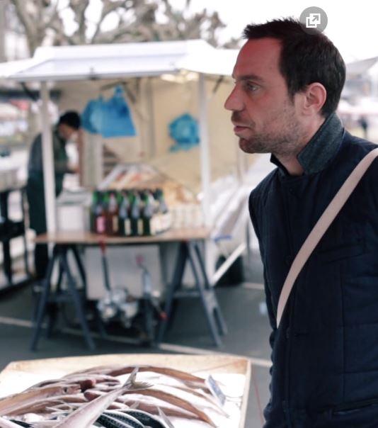 Johan Thyriot Chef étoilé Trouville sur mer La Côte Fleurie