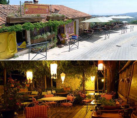 Restaurant la Farigoulette ramatuelle Golfe de Saint Tropez - Restaurant - Côte d'Azur de Cassis à Menton