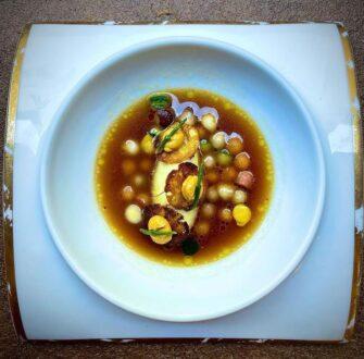 Restaurant Mougins Denis Fetisson La Place de Mougins Côte d'Azur Haute gastronomie - Restaurant - Côte d'Azur de Cassis à Menton - Image 2