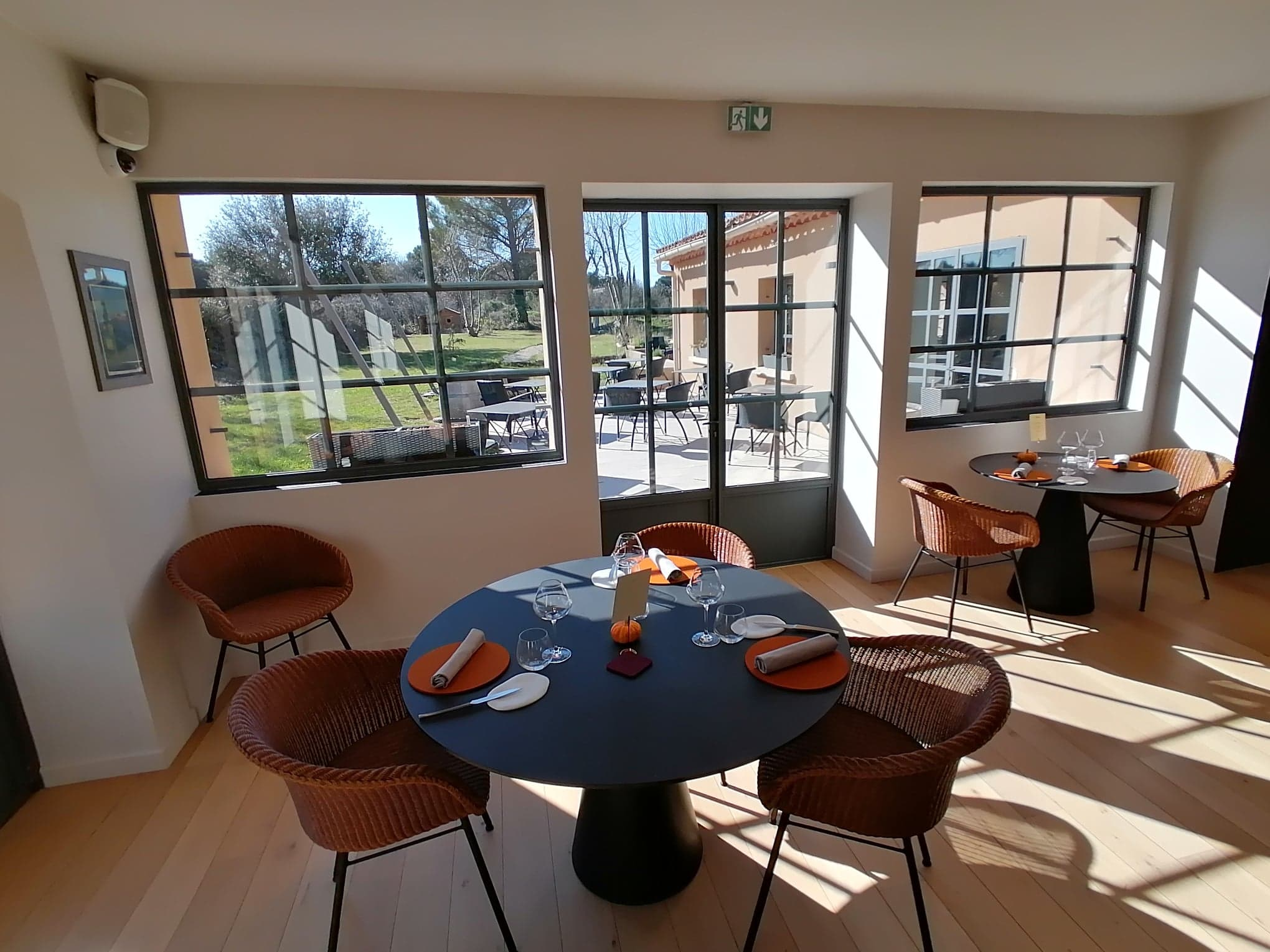 Le Mas Bottero restaurant étoilé Aix en Provence