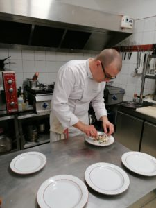 Davy Jobard Chef propriétaire Le Nid Flayosc Var