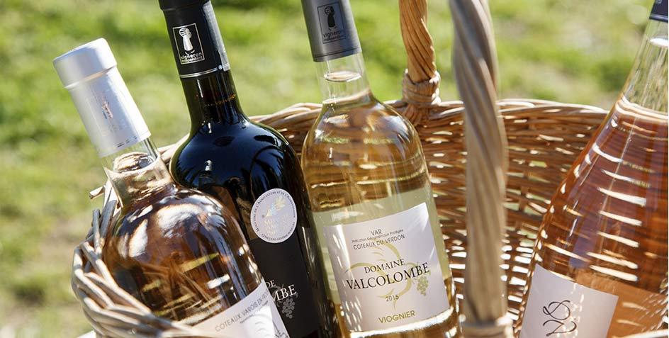 Domaine Valcolombe Côteaux varois Villecroze Haut Var - Domaine viticole - Producteur - Côteaux Varois Villecroze