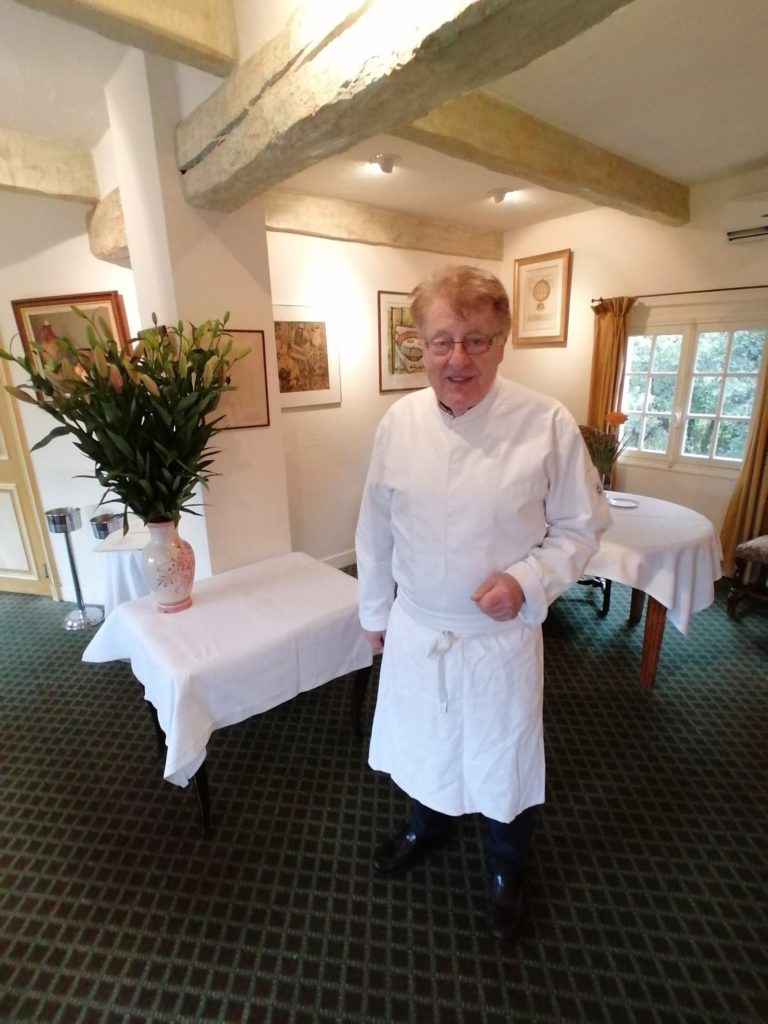 Paul Bajade Chef propriétaire Les Chênes Verts Tourtour