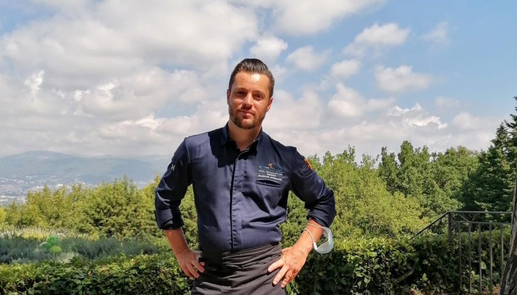 Basile Arnaud, Chef exécutif au Mas Candille à Mougins