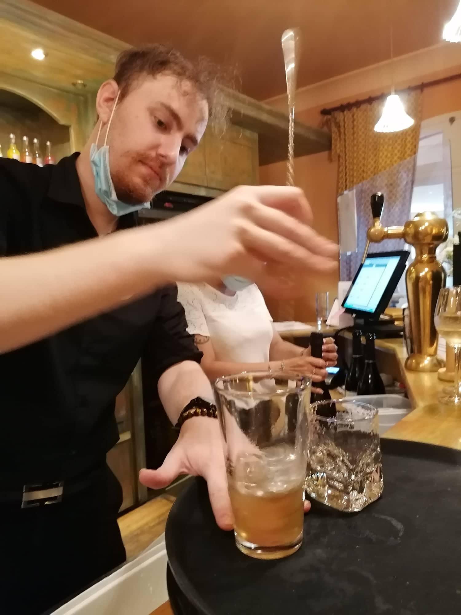 Paul et ses savoureux cocktails