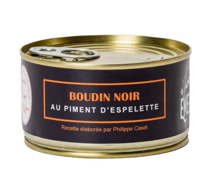 BOUDIN NOIR AU PIMENT D ESPELETTE
